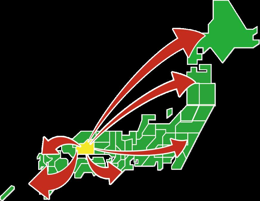 全国輸送ネットワーク