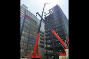 大型施設の建設の事例 宅総合メーカーD社様