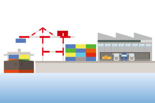 海外への輸出入
