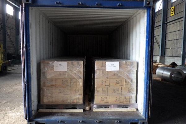 工場出荷から引取り、一時保管・海外への輸出手配